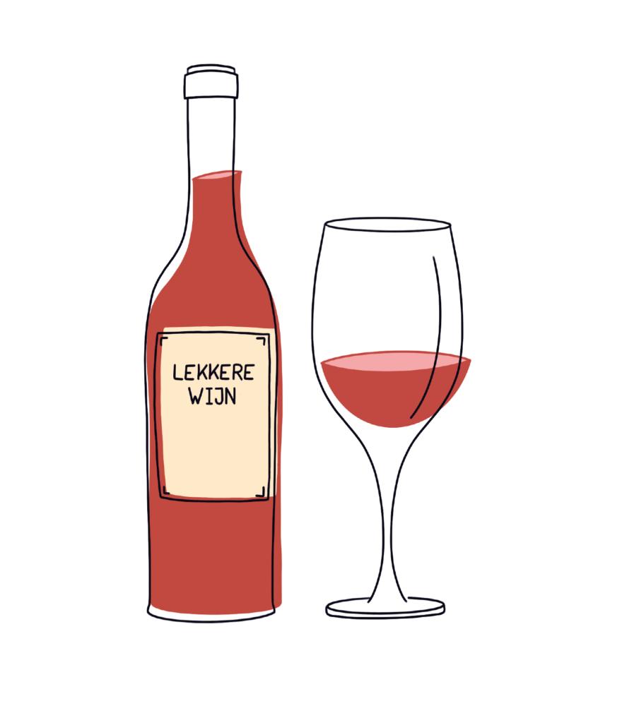 Lekkere wijn